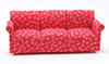 CLA10553 - Sofa, Red