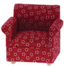 CLA10555 - Armchair, Red