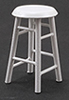 CLA10591 - Bar Stool, 2 In, White