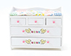 CLA10791 - Changing Table, White, Abc Decal