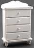 CLA10810 - Chest Of Drawers, White