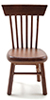 CLA10906 - Chair, Walnut( For 91207 Set Only****)