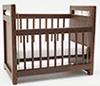 Crib, Walnut