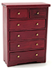 Chest of Drawers, Mahogany