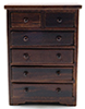 Chest of Drawers, Walnut