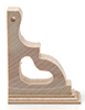 CLA77028 - Vict Corner Post Bracket, 4/Pk