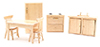 CLA91006 - Kitchen Set/6 Oak