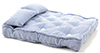 CLA99500 - Double Mattress W/Pillows,Blwh