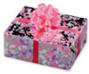 Pink/Purple Foil Gift w/Bow