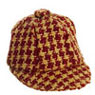 FCA2568RD - Hat, Checkered Red
