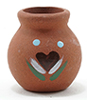 IM65063 - Clay Pot W/Decal