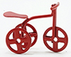 IM65151 - Red Tricycle, 1/2 Scale