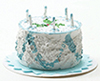 IM65192 - Blue Birthday Cake