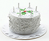 IM65214 - White Birthday Cake
