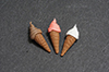 Soft Serve Ice Cream Cones, 3pc