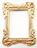IM66145 - Gold Tone Picture Frame
