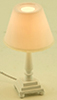 MH1048 - Traditional Table Lamp, White