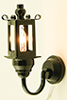 MH45130 - Black Coach Wall Lamp 12V