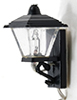 MH609 - Black Coach Lamp, 3 Volt