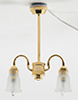 MH660 - Chandelier, 2-Arm