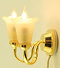 MH673 - Wall Sconce, 2 Tulip