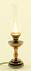 MH771 - Hurricane Lamp, Antique Copper