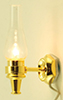 MH803 - Wall Sconce Clear, Gold Base