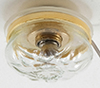 MH852 - Clear Ceiling Light