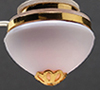 MH881 - Ck3722 Ceiling Fixt, Sm Globe