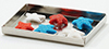 MUL5358D - Red White & Blue Cookies On Baking Sheet
