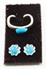 MUL5395 - Bracelet & Earrings Turquoise