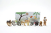 African Animal Assortment, 8 pieces