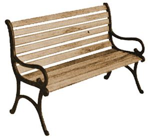 Am90500 Discontinued Park Bench Kit