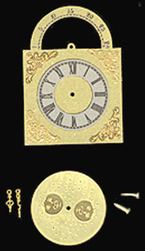 BLD152 - Grandfather Clock Face W/Hands