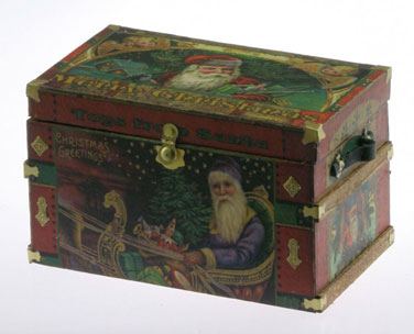 CATCPT103 - Lithograph Wooden Trunk Kit, Christmas