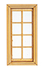 AS0404CW - Casement 4 Over 4 Window