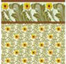 BPHAC102 - 1/2In Scale Wallpaper, 6pc: Sunflower