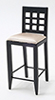 CLA10922 - Bar Chair, Black
