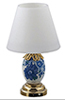 HW2301 - Led Blue And White Porcelain Table Lamp