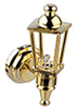 HW2306 - Led Brass Carriage Lamp