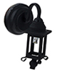 HW2308 - Led Black Coach Lamp Sconce