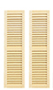 HW5019 - Louvered Shutters, 2/Pk