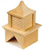 HWH2407 - 1/2 Scale: Wood Cupola