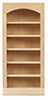 HWH5016 - 1/2 Scale: 5 Shelf Bookcase