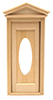 HWH6002 - .1/2 Scale: Victorian Oval Door