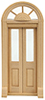 HWH6016 - 1/2 Scale: Palladian Double Entry Door