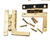 HW1132 - HL Hinges with Nails, 2/Pk