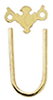 HW43101 - Sm Chippendale Brass Plate/Bail, 12/Pk
