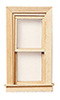 HW5046 - Working Double Hung Attic Window