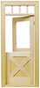 HW6009 - Crossbuck Dutch Door